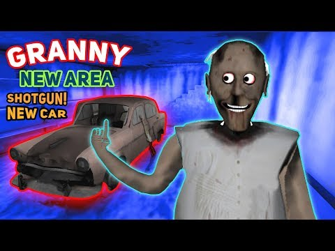 Granny Now Has A NEW CAR, NEW ITEMS, AND A NEW ROOM!!! | Granny The Mobile Horror Game (Update 1.4)