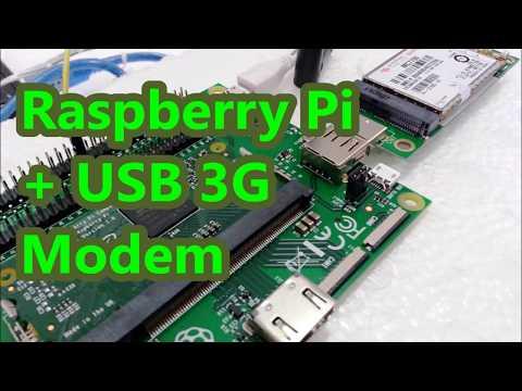Raspberry Pi + USB 3G Modem