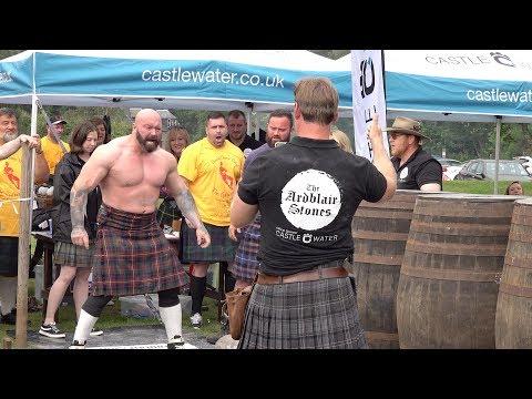 Scottish strongman Andy