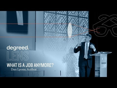 The Changing Nature of Work & Why Older Workers Still Matter | Dan Lyons at Degreed Lens 2017