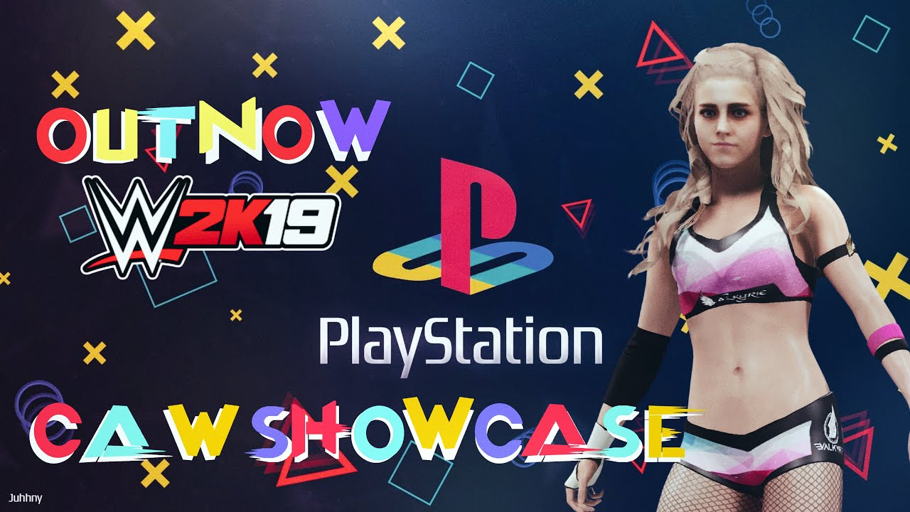 WWE 2K19 CAW Showcase   Valkyrie PS4 PS5