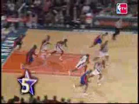 2007-2008 NBA TOP 10 Amazing shots