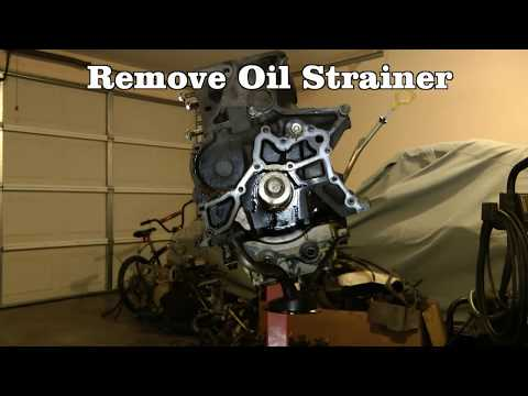 Part 3 (of 10) Engine Teardown - Rebuild 1994 Toyota Camry Engine & Transmission 5SFE & A140E