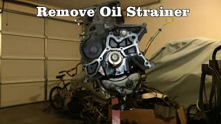 Part 3 (of 10) Engine Teardown - Rebuild 1994 Toyota Camry Engine & Transmission 5SFE & A140E(Part 3 of 10 Complete engine and transmission overhaul of a 1994 Toyota Camry. This video shows teardown/disassembly of the cylinder head and engine ..., 2011-12-31T22:09:45.000Z)