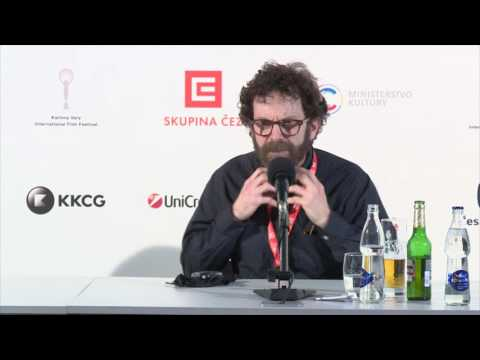 Press Conference - Charlie Kaufman