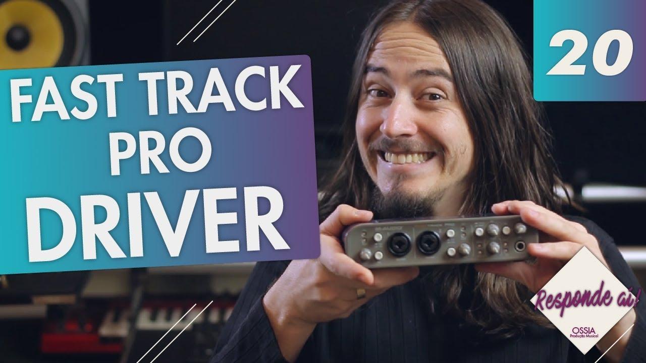 m-audio fast track usb drivers mac