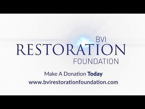 BVI Restoration Foundation Crowdfunding Campaign