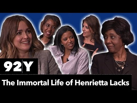 Lacks family with Rose Byrne: The Immortal Life of Henrietta Lacks