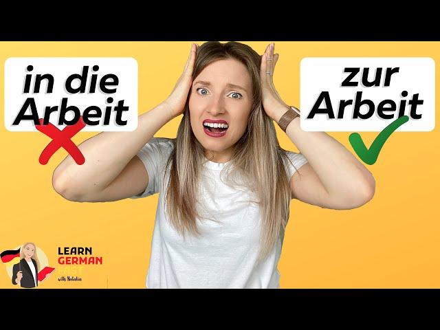 10 Regeln der PRÄPOSITIONEN   Learn German Fast