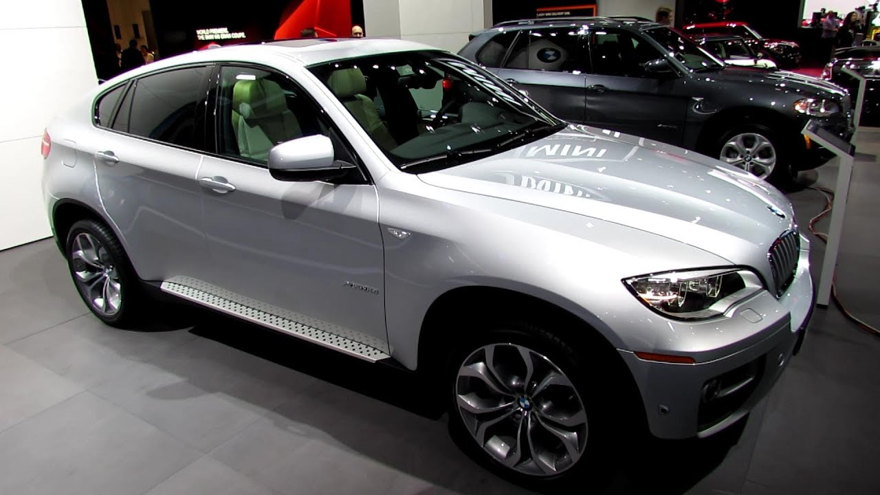 2013 Bmw X6 Xdrive 50i Exterior And Interior Walkaround 2013 Detroit Auto Show Youtube