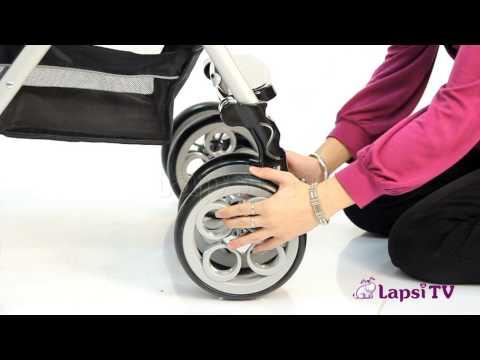 Прогулочная коляска Jetem Clover S-802 W (Жетем Кловер С 802) с накидкой на ножки