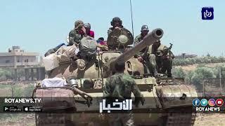 نزوح قياسي ومفاوضات صعبة في الجنوب السوري