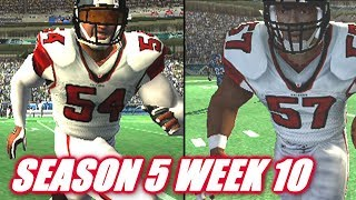 THE DRIVE STOPPERS - MADDEN 2007 FALCONS FRANCHISE VS SEAHAWKS - S5W10