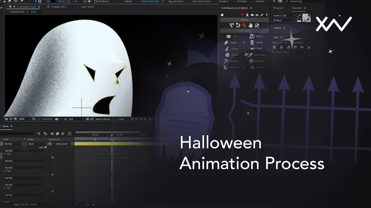 Process video : Halloween Special