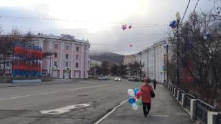 Магадан. Первое мая