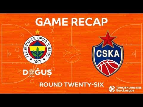 Highlights: Fenerbahce Dogus Istanbul - CSKA Moscow