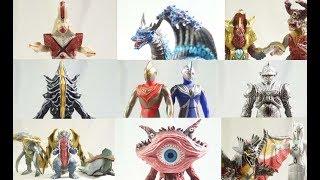 ウルトラマンガイア 20周年記念 ガイア怪獣大進撃 ソフビ レビュー Ultraman Gaia Monster Toys Colection