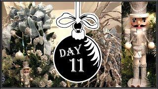 Icy Blue Christmas Tree | Winter Wonderland Day 11