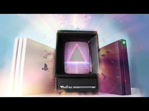 PlayStation 4 Pro VS Xbox One X VS Vectrex