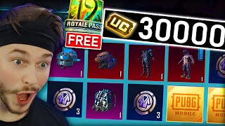 30,000 UC for NEW GODZILLA SKIN + FREE ROYALE PASS 😍🔥
