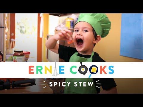 Ernie Cooks Spicy Stew
