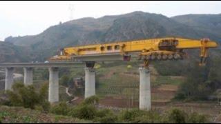 COMO SE CONSTRUYEN CONSTRUIR PUENTES UN PUENTE MÁQUINA PARA PUENTES - TRABAJANDO RAPIDO RAPIDAMENTE