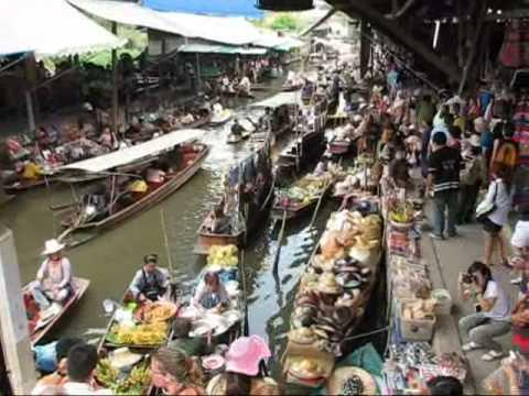 how to go to floating market bangkok