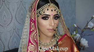 TRADITIONAL BRIDAL MAKEOVER by Lipa Makeup