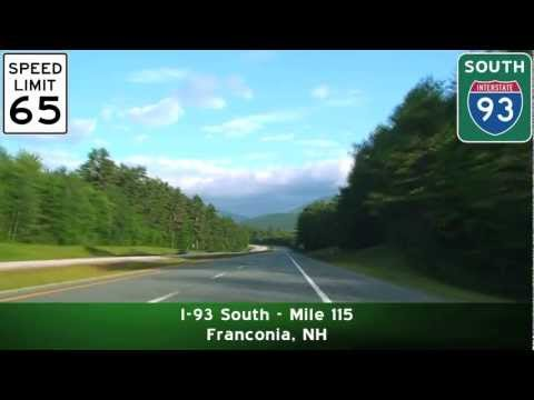 I-93 South: Northern New Hampshire