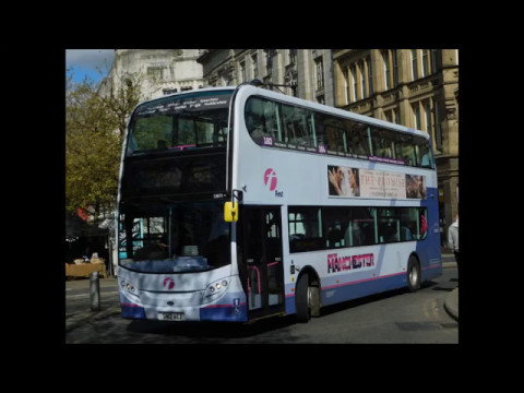 First Greater Manchester ADL Enviro 400 33678 (SN12 AEZ) Route 184