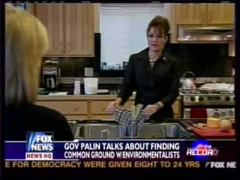 Fox News Greta Van Susteren interviews Sarah Palin DAY 2 Part 2