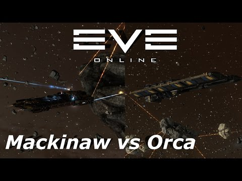 EVE Online - sisi - Mackinaw vs Orca