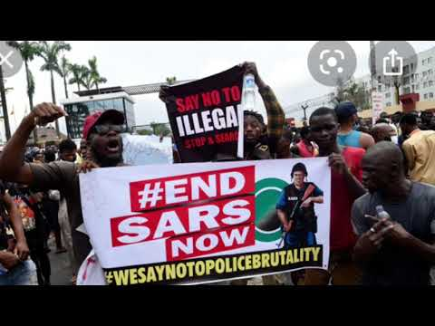 Nigerians Protest Police Brutality With #ENDSARS Protests
