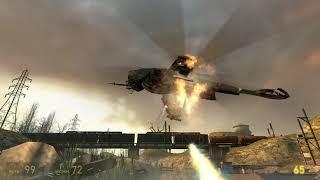 прохождение half-life 2 #6 босс вертолёт
