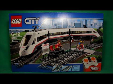 Интернет-магазин кораблик предлагает детские товары по доступным ценам: конструктор lego city 60051 скоростной пассажирский поезд купить с доставкой по москве, санкт-петербургу и всей россии.