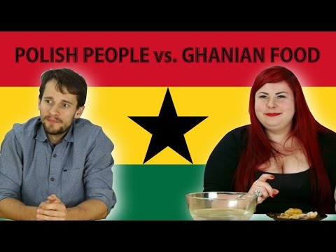 Polish people trying Ghanian food for THE FIRST TIME!  [ENGLISH SUBTITLES]