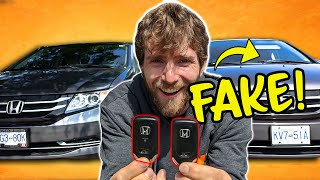 I Switched My Wife's Car Without Her Noticing!