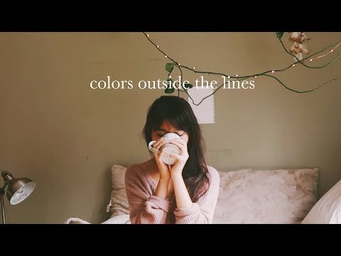 COLORS OUTSIDE THE LINES | paint with me