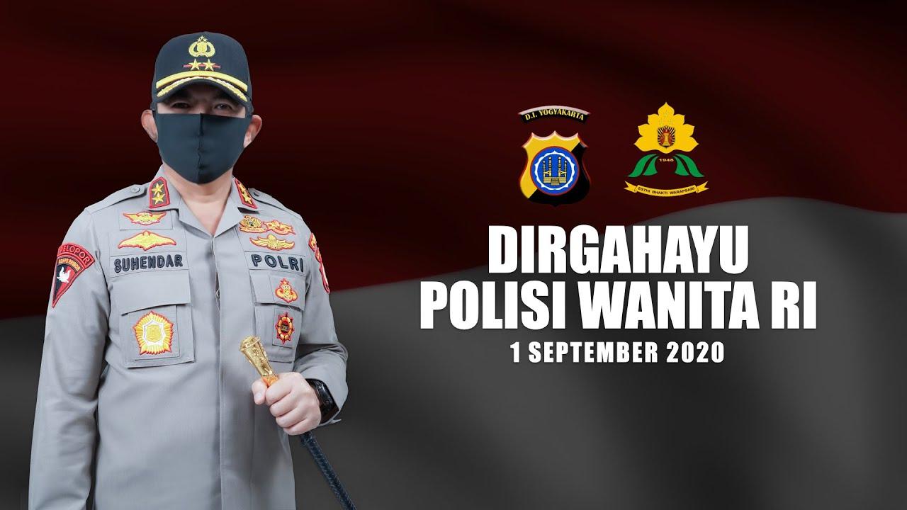 DIRGAHAYU POLISI WANITA REPUBLIK INDONESIA KE 72 POLDA DIY
