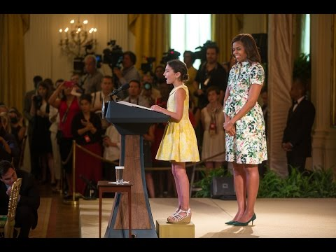 "The President and First Lady Speak at the 2015 Kids' ""State Dinner"""