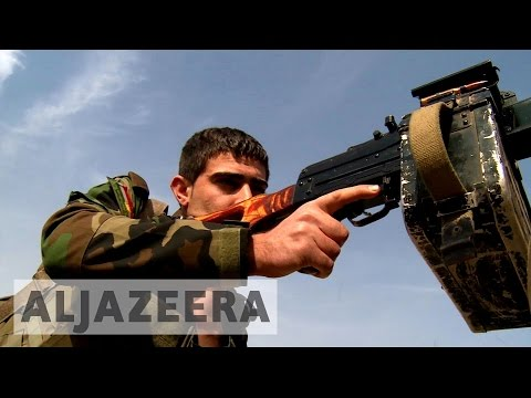 Battle for Mosul: Syrian Kurds take on ISIL in Iraq
