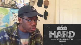 TAY K RAPPING IN JAIL!!? No Jumper feat Tay K & Blocboy JB - Hard | REACTION
