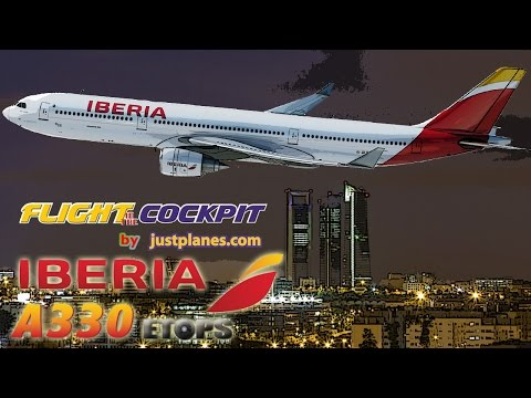 "IBERIA A330 ""ETOPS"" to Panama City"