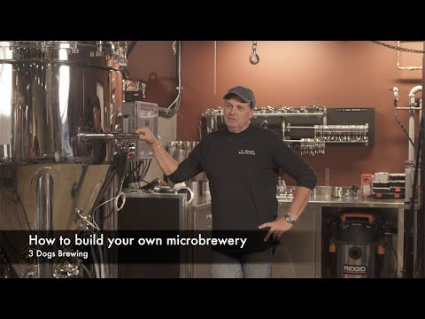 How To Successfully Open Your Own Microbrewery (Part 1: 3 Dogs Brewing, White Rock, BC)