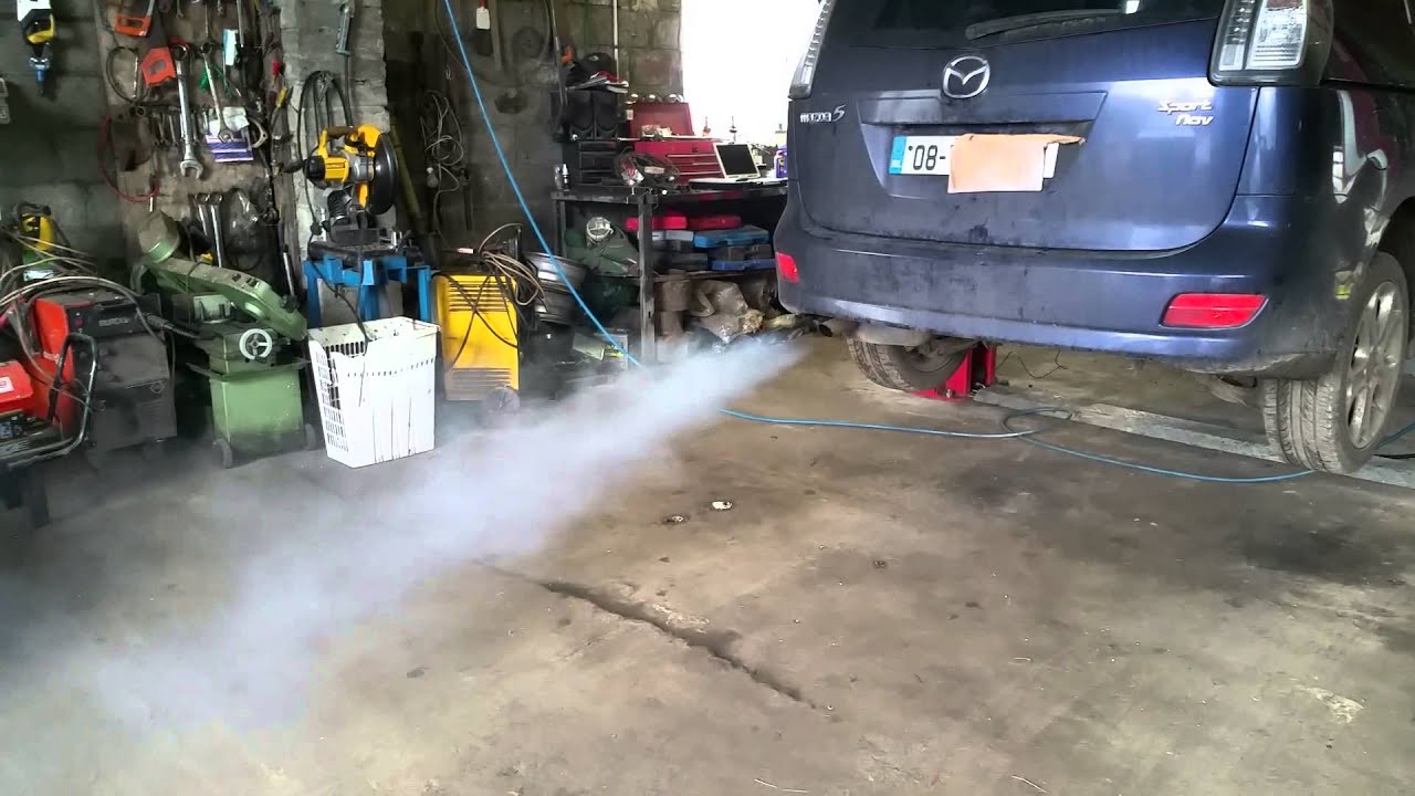 dpf clean on a mazda 5 by terraclean tipperary youtube. Black Bedroom Furniture Sets. Home Design Ideas