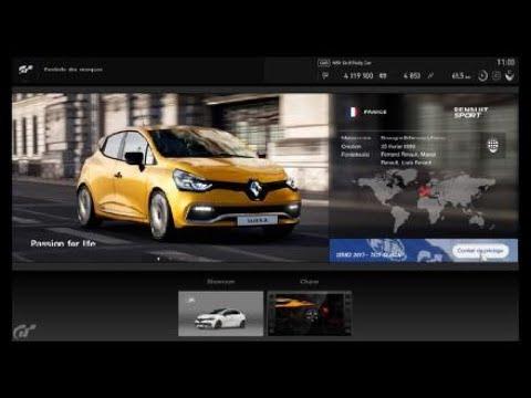 Gran Turismo™ Renault Sport Sponsorship