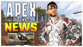 Apex Legends News! Server Patch Coming + Event Challenges + Third Person Mode Gameplay!