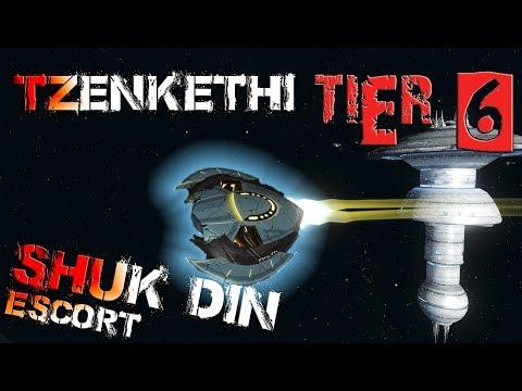 Tzenkethi Shuk-din Escort [T6] – with all ship visuals - Star Trek Online