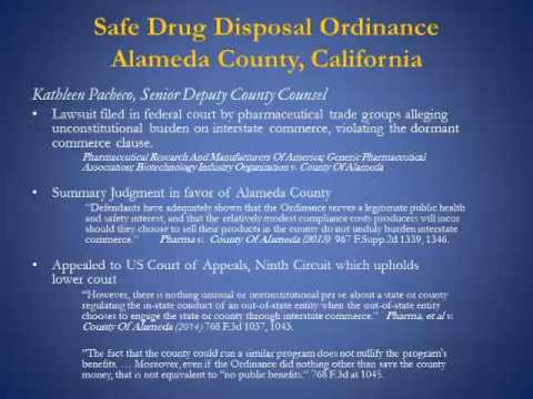 Webinar for Community Agencies: The DEA's Final Rule on Disposal of Controlled Substances