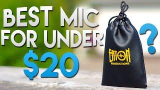 Best Microphone Under $20? | Qwazy Tech | Eaton Lavalier